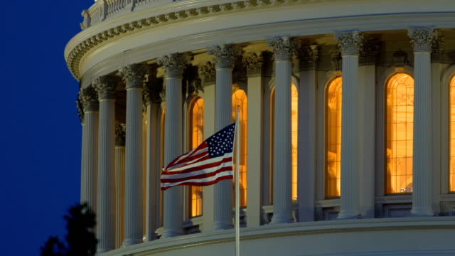 capitol hill, washington dc - american architecture stock videos & royalty-free footage