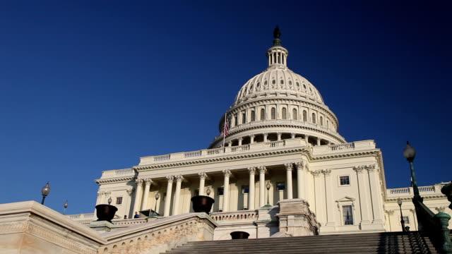 US Capitol West steps - LA video