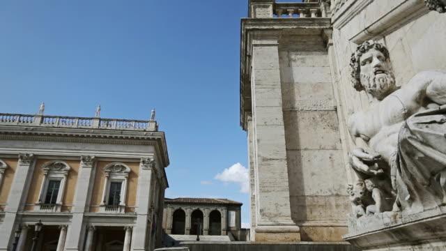 Capitoline Hill and Piazza del Campidoglio in Rome video