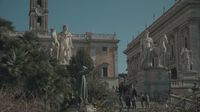 Capitoline hill in Rome: 4k video video