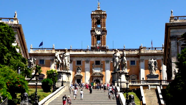 Capitoline Hill - Rome, Italy video