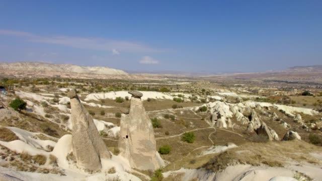 Cappadocia landmark, Twin fairy chimneys