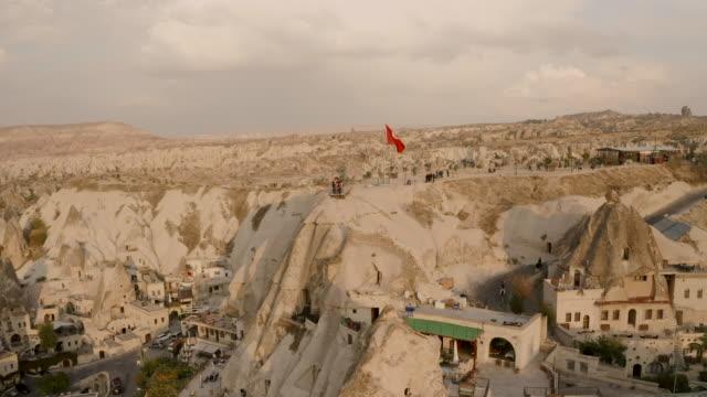 Cappadocia, Turkey Goreme. Aerial view of the city Cappadocia, Turkey Goreme. Aerial view of the city. 4K turkmenistan stock videos & royalty-free footage