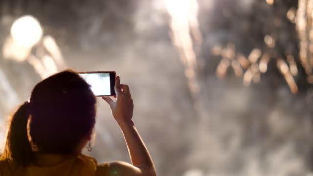 Capture firework with smartphone