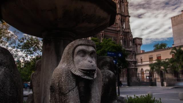 capuchino's church in córdoba argentina timelapse video