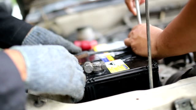 Car Battery Service. video