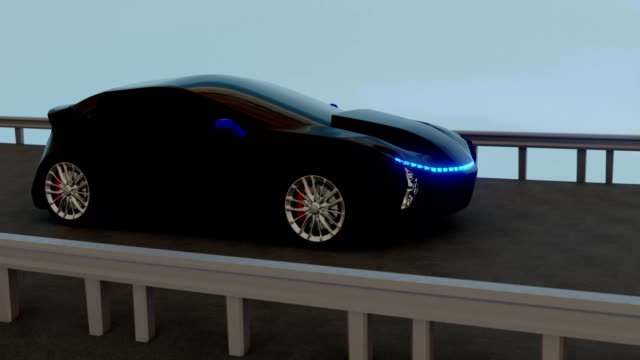3D car bottom smooth camera movement