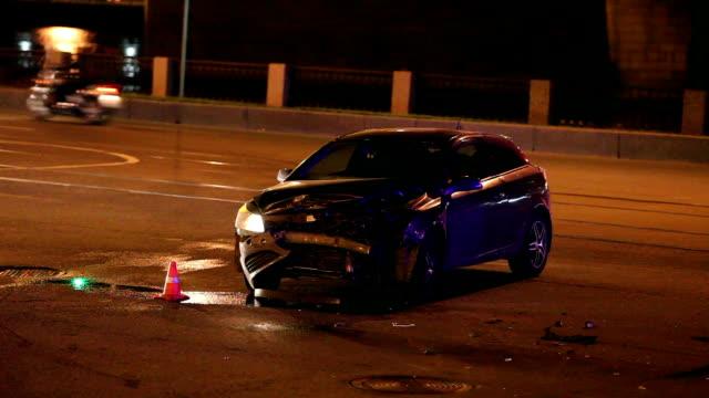 car Crash the night video
