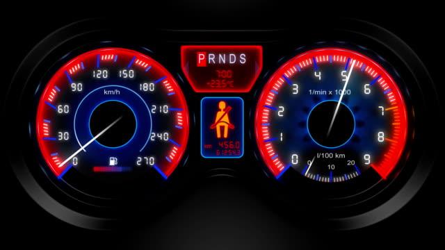 car dashboard video