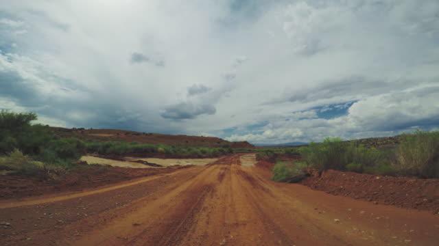 pov car driving in the highways of usa - wiejska droga filmów i materiałów b-roll