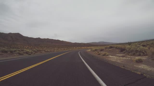 POV-Auto fahren in den Straßen der USA – Video