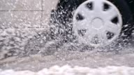 istock SLO MO Car driving in the snow 640949216