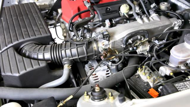 Car Engine Revving video