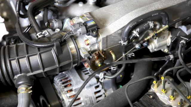 Car Engine Revving (Close-up HD) video