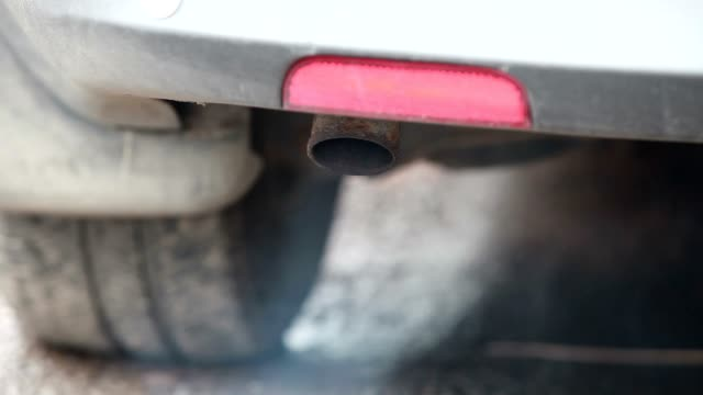 Car exhaust pipe video