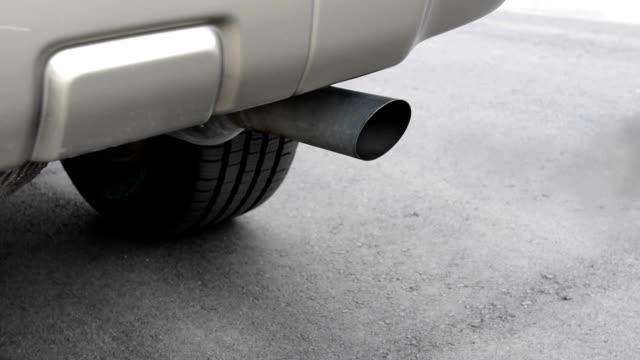 Car exhaust video