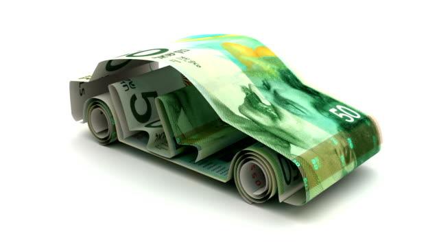 Car Finance with Israeli New Shekel Car Finance with Israeli New Shekel money videos stock videos & royalty-free footage