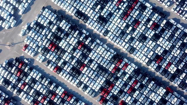 輸出用車 - 豊富点の映像素材/bロール
