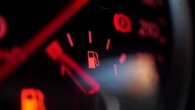 Car fuel sensor hand goes up video