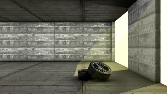 Car garage video
