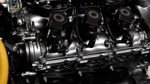 car hybrid engine detail car hybrid engine detail alternative fuel vehicle videos stock videos & royalty-free footage