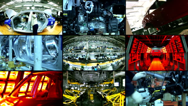 car industry, automobile video