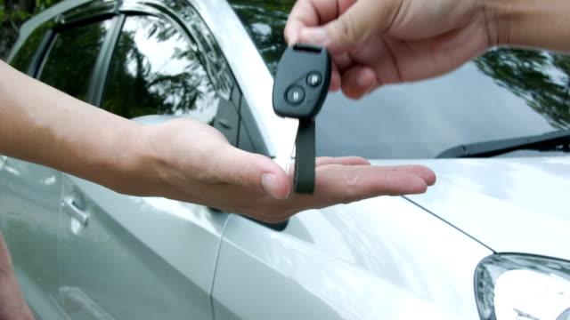 Car keys. video