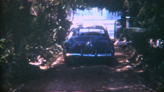 Car Leaves Home 1950 video