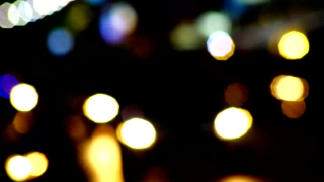 car light out of focus video