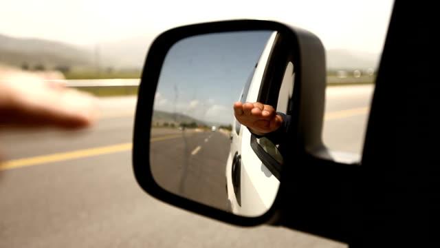 Car mirror video