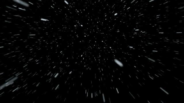 お車の移動の上の雪 - 雪が降る点の映像素材/bロール