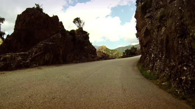Car Onboard Camera on Dangerous Mountain Roads video