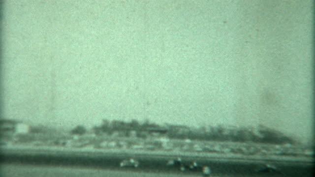 カーレース 1948 年 - アーカイブ画像点の映像素材/bロール