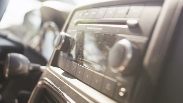 Car radio video