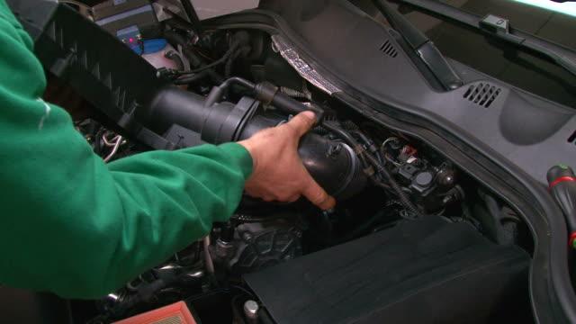 Car Repair Disassembling the Ventilation System video