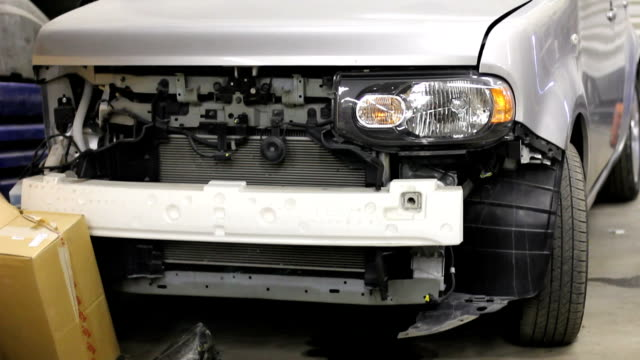Car repairing. Auto Repair Shop. Automobile service. video