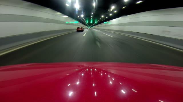 car running in high speed video