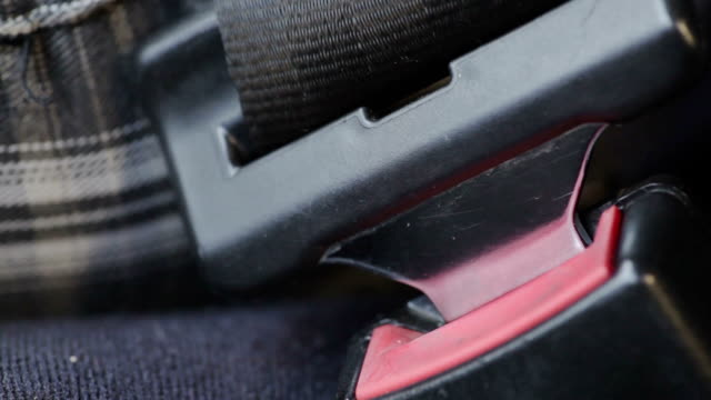 Car seat belt video