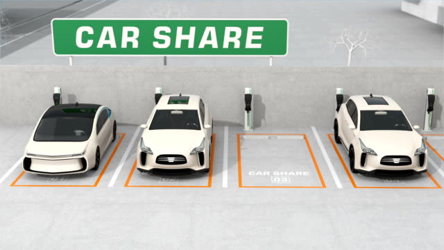 Car sharing concept video