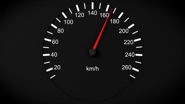 Car speedometer HD. video