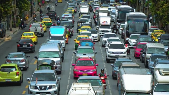 高速道路の車の渋滞 - 渋滞点の映像素材/bロール