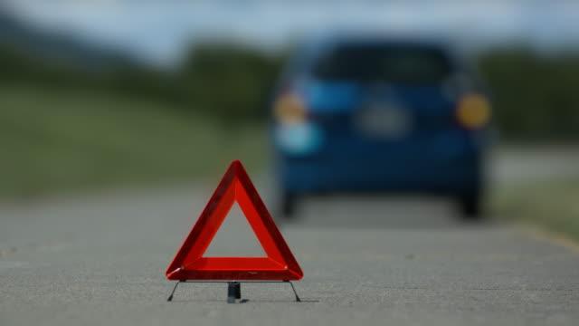 car trouble accident left handle video