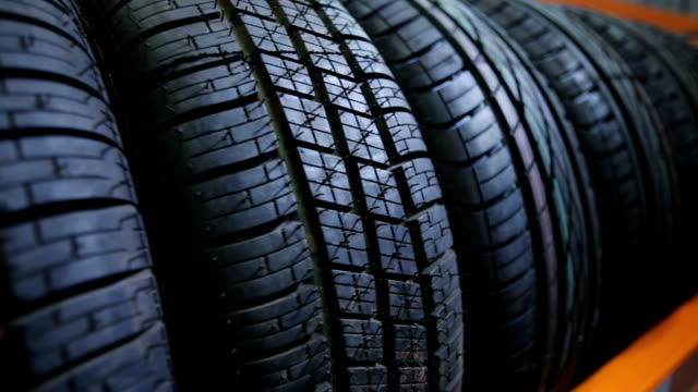 Car tyres at store winter car tyre at store tires stock videos & royalty-free footage