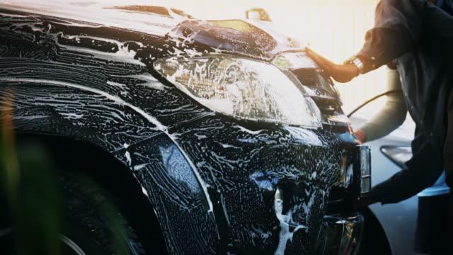biltvätt - surf garage bildbanksvideor och videomaterial från bakom kulisserna