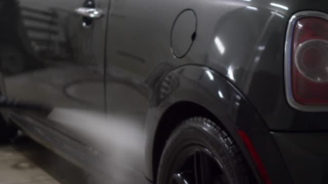 Lava-Jato, lava-jatos a máquina com alta pressão - vídeo