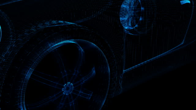 Car Wireframe​ video