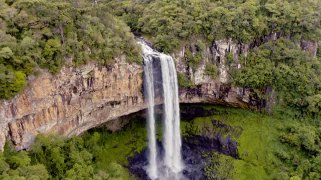 Caracol Falls in Canela, RS, Brazil video