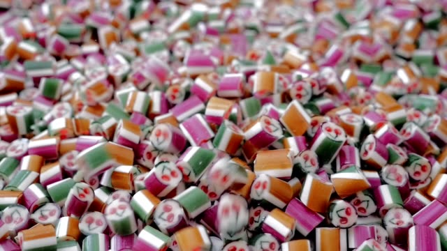 Caramel sweets and candies Caramel sweets and candies stick plant part stock videos & royalty-free footage