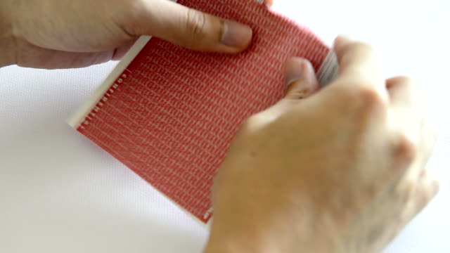 Carbon Paper tearing video