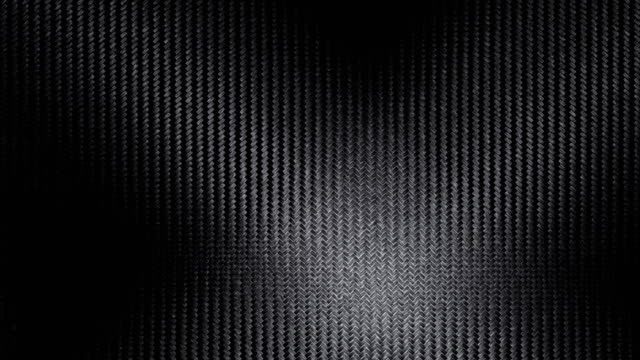 vídeos de stock e filmes b-roll de carbon-fiber pattern background backdrop loop - metal